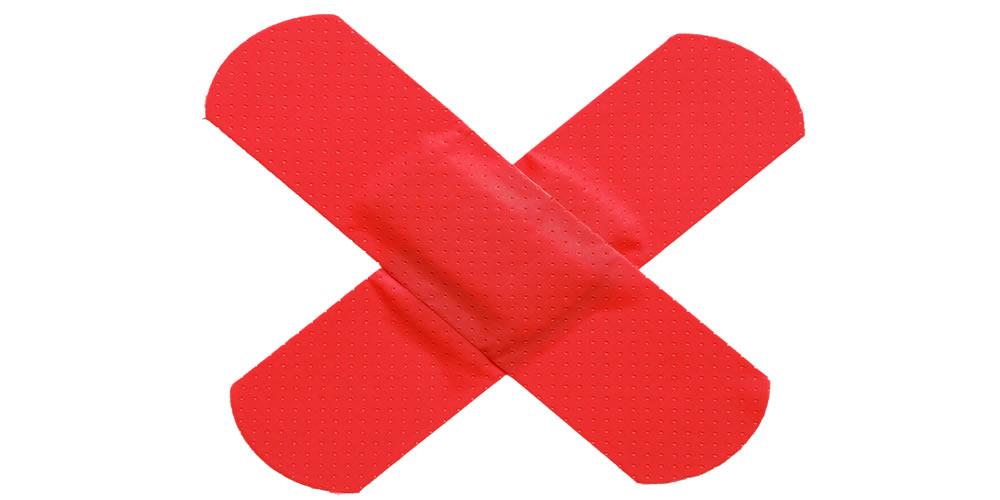 Header - PA - band aid cross